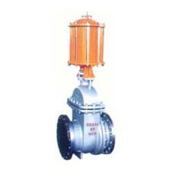 PZ641H型气动钢制排渣闸阀PN16~PN63