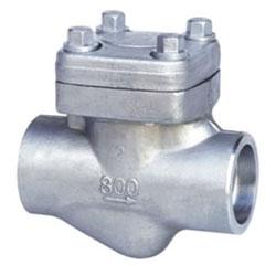 H61H、H61Y型承插焊止回阀,不锈钢承插焊止回阀800(Lb)