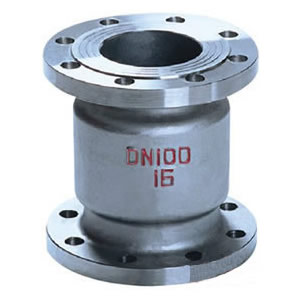 H42W不锈钢立式止回阀/304、316不锈钢立式止回阀