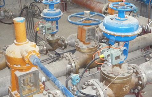 永济中农化工-气动氧气调节阀,手动氧气截止阀