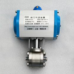 Q661F型焊接式气动高压球阀