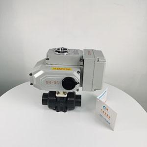 智能电动塑料耐腐蚀球阀-UPVC双由令球阀-电