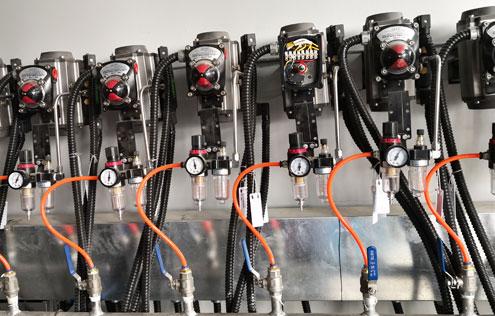 气动高温耐磨球阀-国电菏泽电厂喷氨优化项目