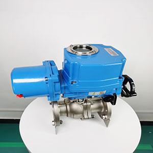 智能一体化电动球阀ZDJR-电动不锈钢法兰球阀