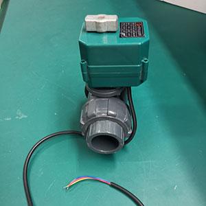 CTF塑料电动球阀 UPVC电动球阀