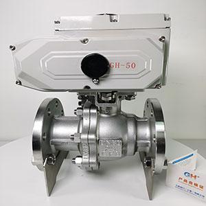 Q941F-16P电动高平台球阀-精小型电动球阀