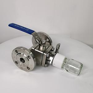 不锈钢管在线取样阀 在线取样阀 定量取样阀 不锈钢取样阀
